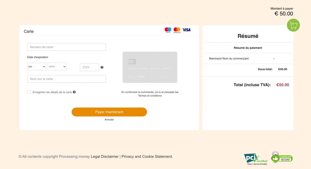 Déposer de l'argent sur CBET avec sa carte bancaire